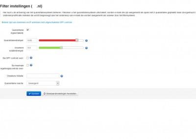 hosting4u-spamfilter-pro-filter-instellingen